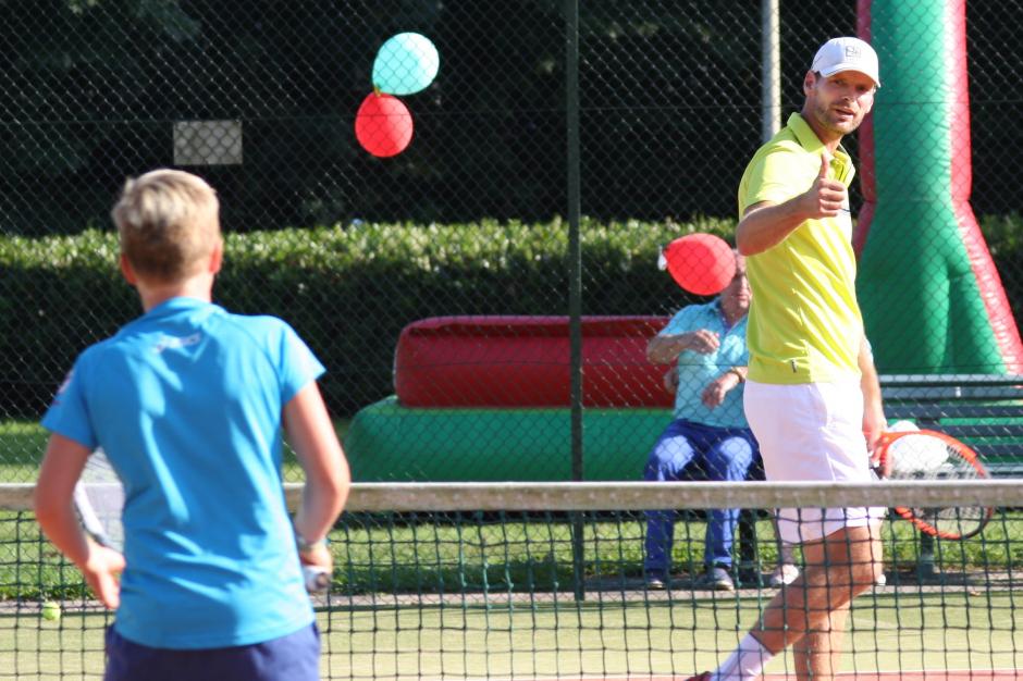 Sjeng Schalken tennis-clinic