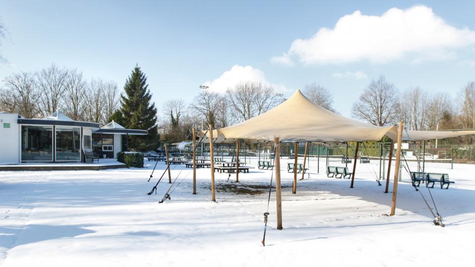 TCH bedekt met sneeuw (2021)