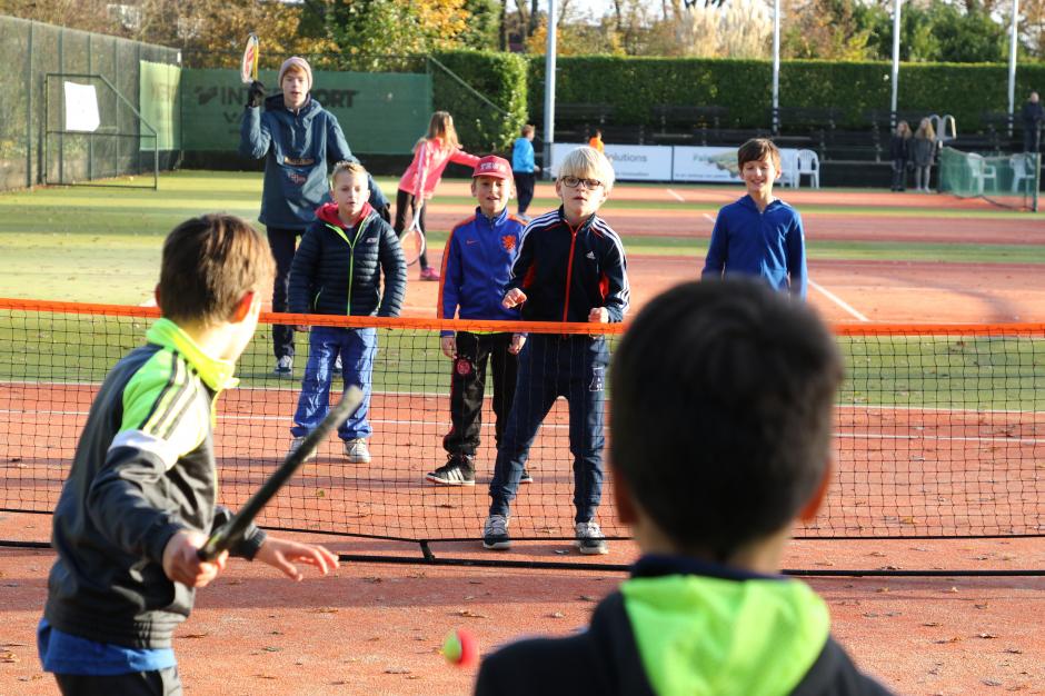 OJT rood/oranje tenniskids