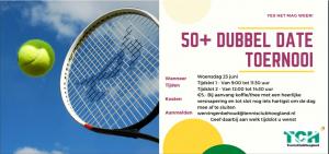 50+ dubbel date toernooi